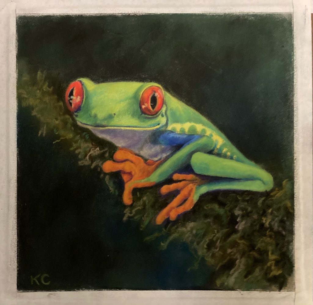 8x8 pastel on pastelmat